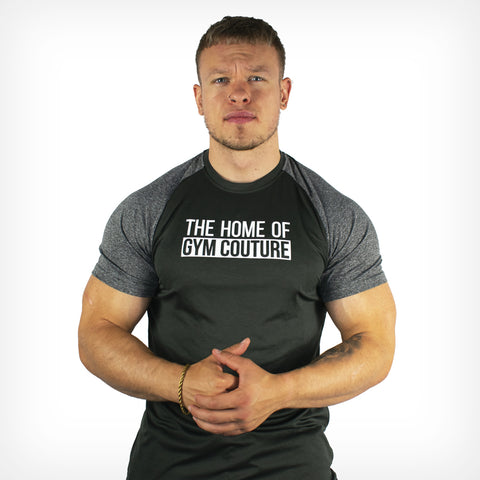 Men's Gym Couture Performance T-Shirt Black