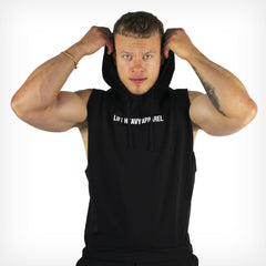 Men's Originals Sleeveless Hoodie Black