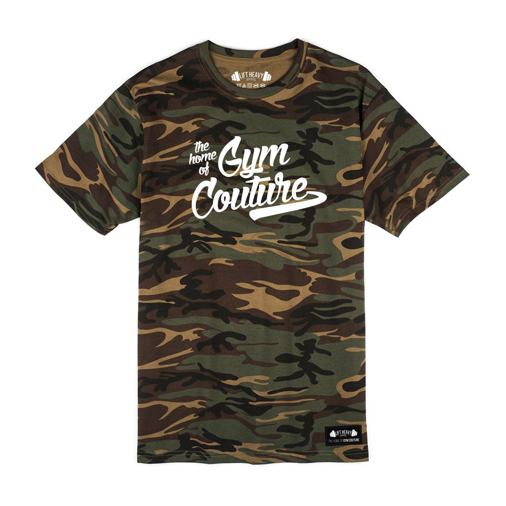 Camo Gym Couture Men's T-Shirt Lift Heavy Apparel