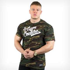Camo Gym Couture Men's T-Shirt