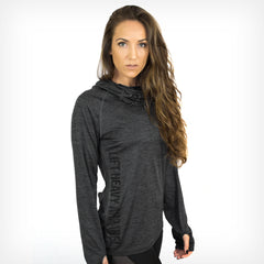 Women's Dyno Cowl Neck Hoodie Lift Heavy Apparel