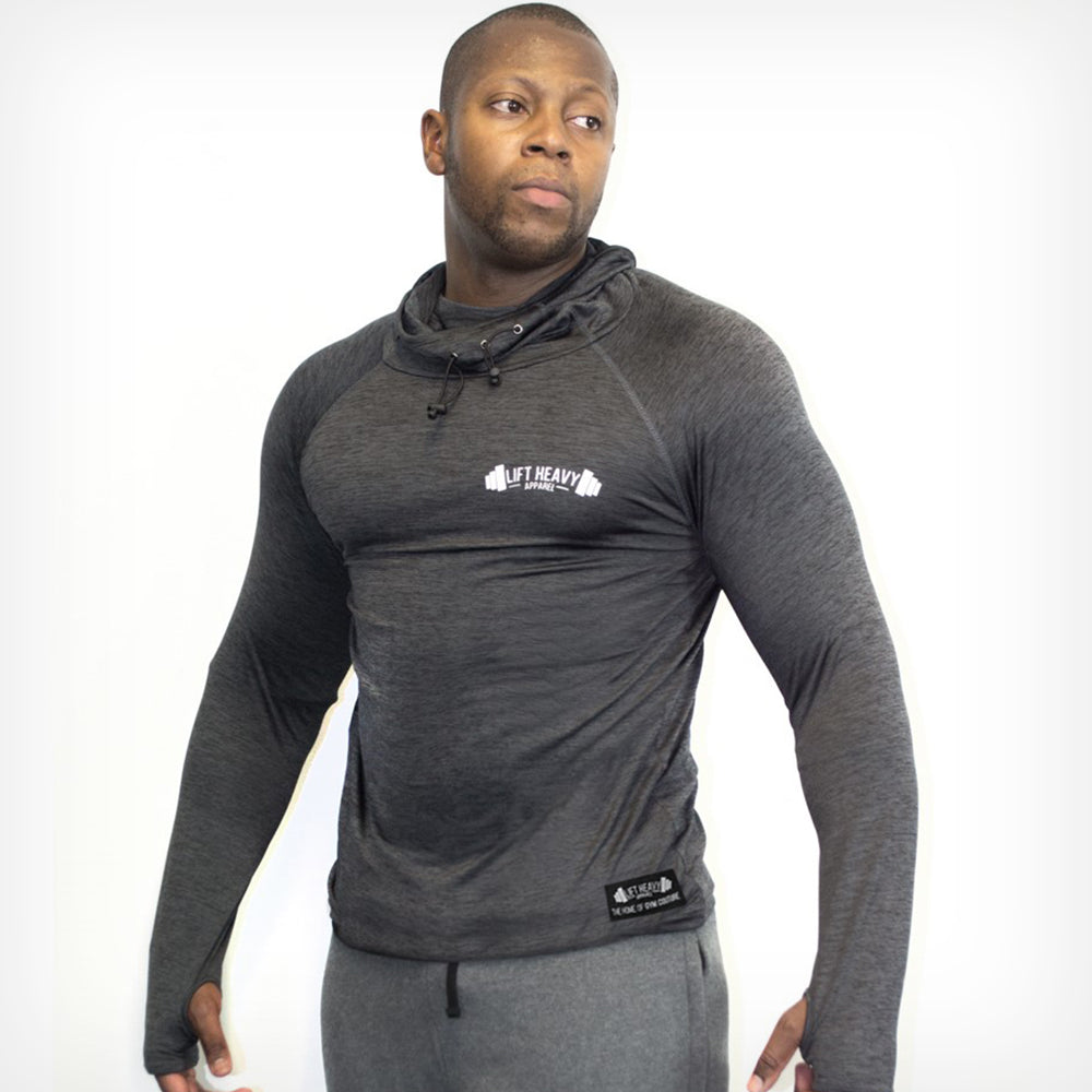Men's Dyno Cowl Neck Hoodie Lift Heavy Apparel