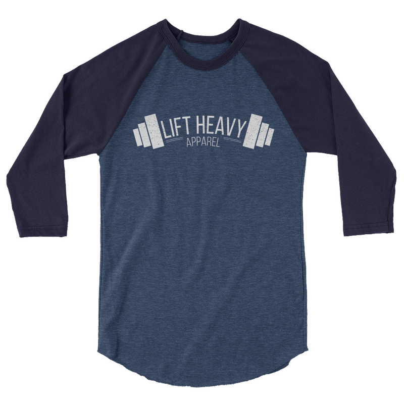 Lift Heavy Apparel Insignia Men's 3/4 Raglan