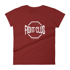 Women's Fight Club Logo T-Shirt Lift Heavy Apparel