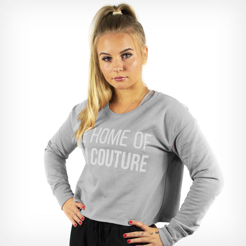Women's Originals Cropped Sweater Sport Grey
