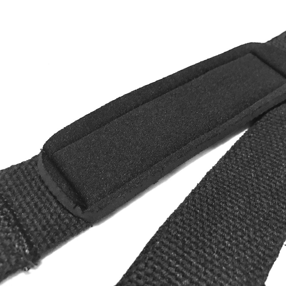 Black HD Padded Lifting Straps