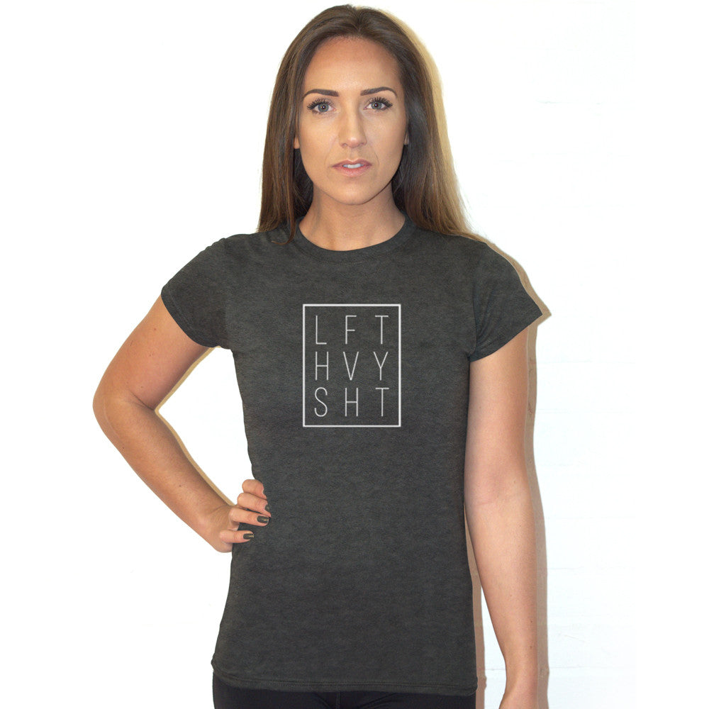 Women's Signature Range tshirt Lift Heavy Apparel