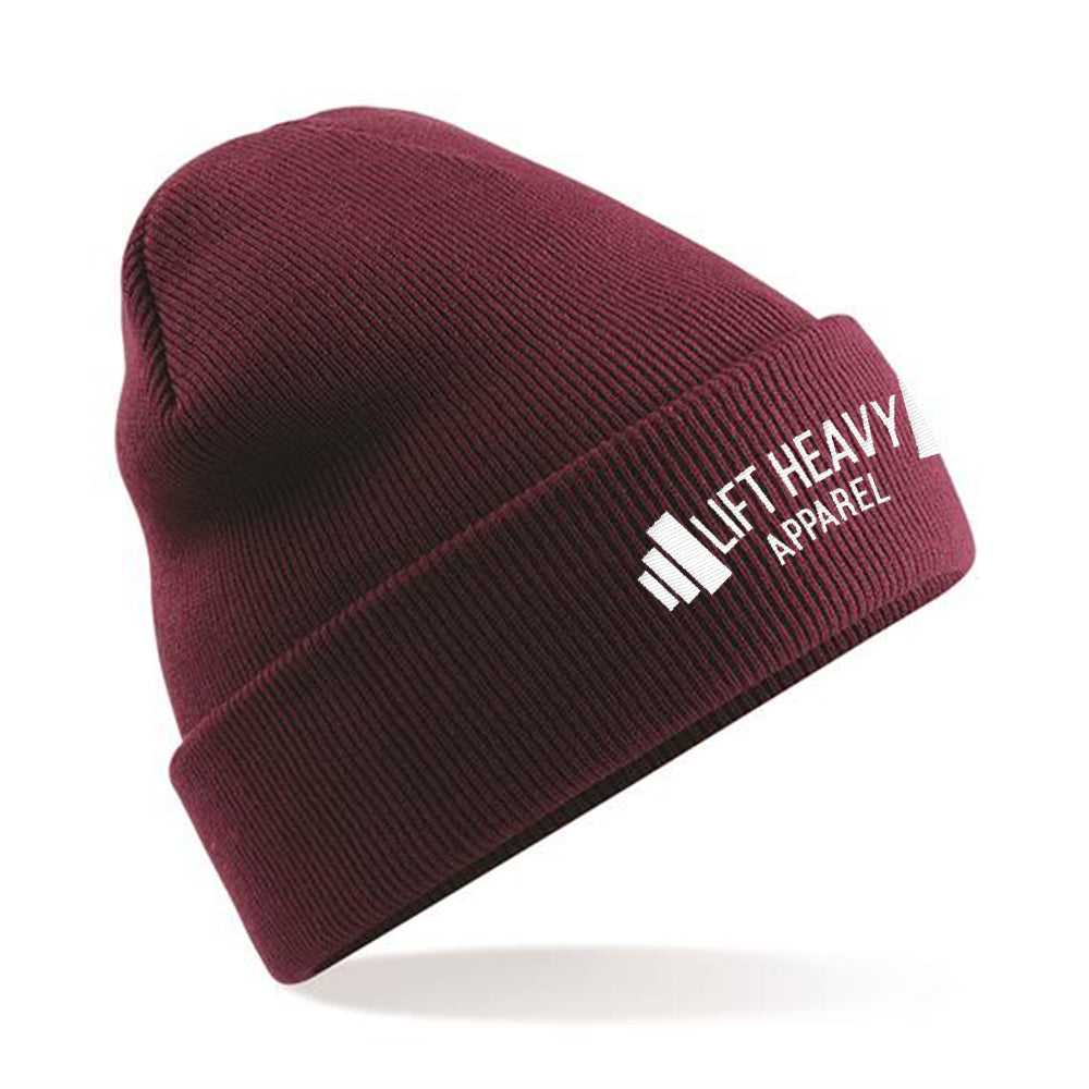 Insignia Cuffed Beanie Hat Lift Heavy Apparel
