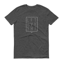 Dark Grey Signature Range Men's T-Shirt Lift heavy Apparel