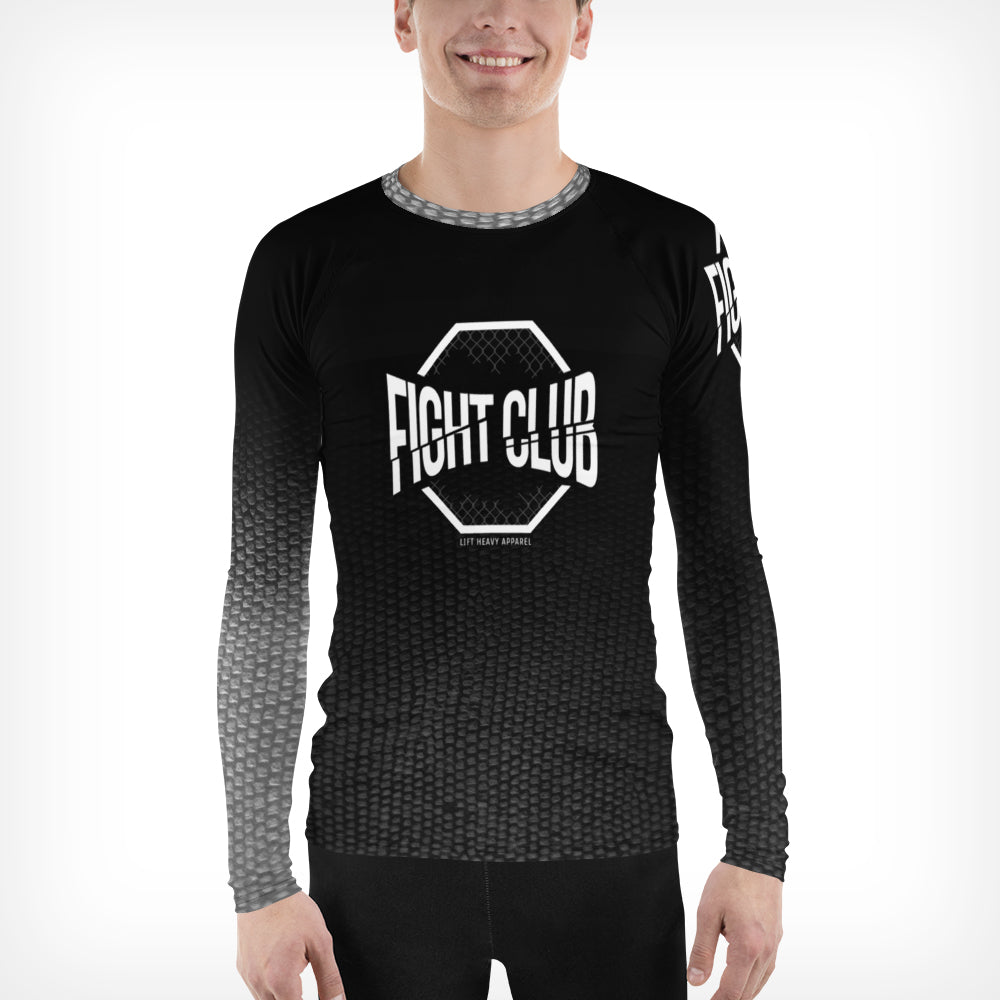Men's Snake Print Ranked Rashguard