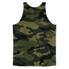 Green Camo Men's Tank Top - Lift Heavy Apparel - 2