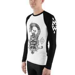 Men's Michelle Waterson Dragon Rashguard from Lift Heavy Apparel Fight Club