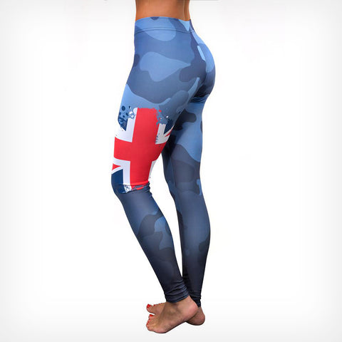 Patriot Women's Leggings - UK Lift Heavy Apparel
