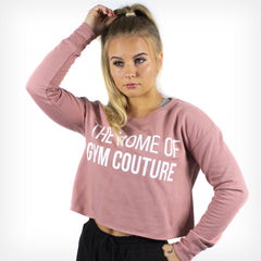 Women's Originals Cropped Sweater Dusty Pink