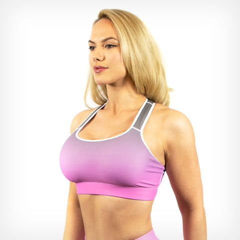 Fade sports bra Lift Heavy Apparel Rose