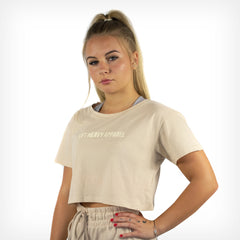 Women's Originals Cropped Tee Sand