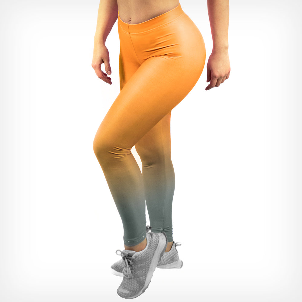 Fade Women's Leggings Sunset Lift Heavy Apparel