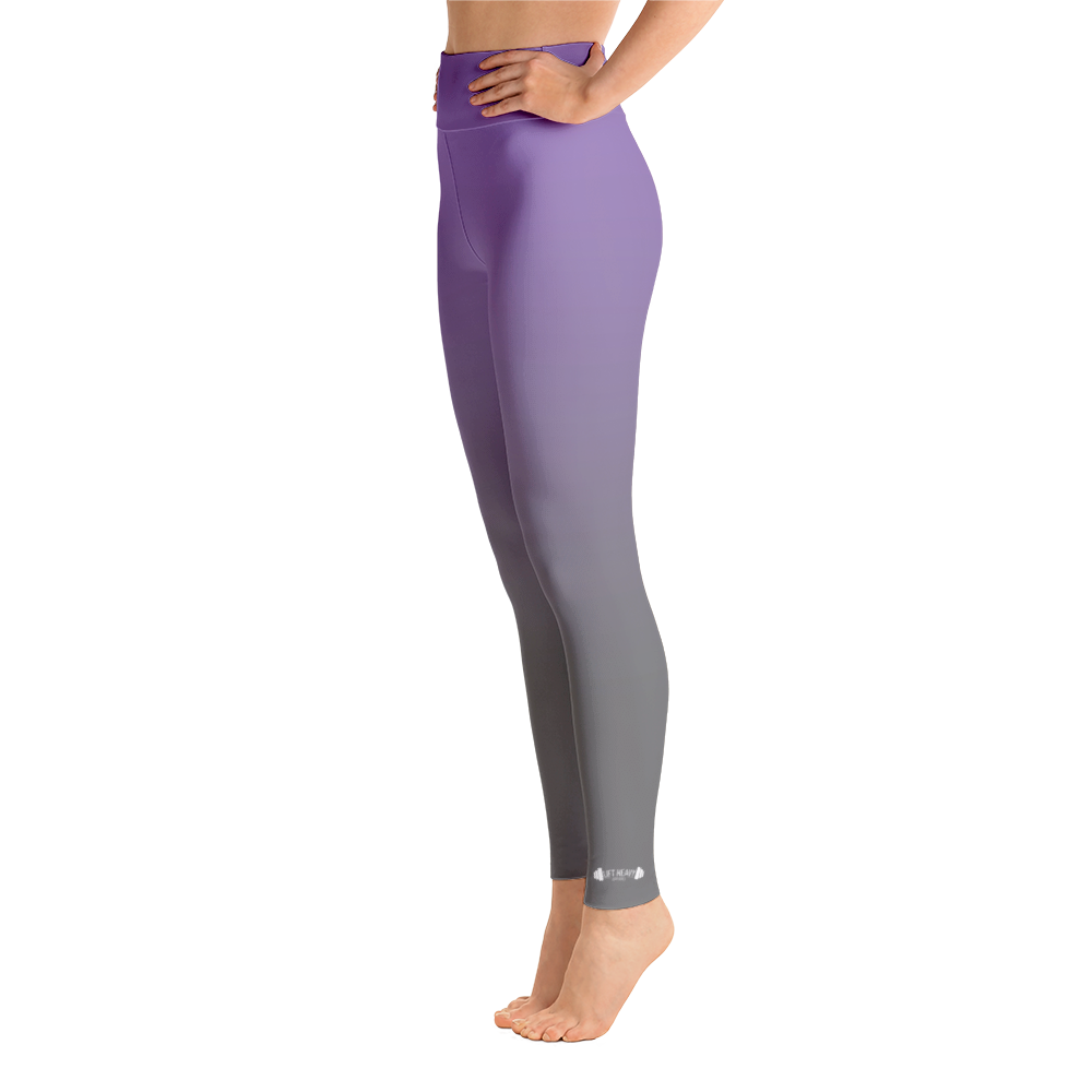Fade Women's High Waist Yoga Leggings Lift Heavy Apparel