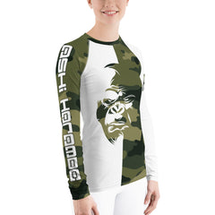 Women's Ashi Harambe Rashguard Lift Heavy Apparel Fight Club