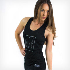 Signature 2.0 Women's Fitted Tank Top Lift Heavy Apparel