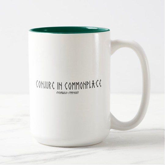 "SteamWolf ""Conjure in Commonplace"" Mug"