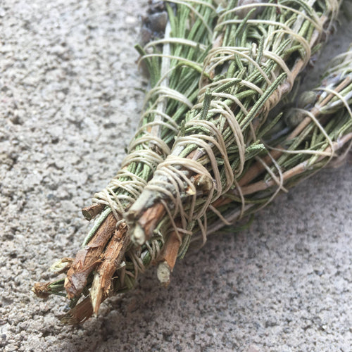 Lavender and Rosemary Smudge Stick