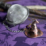 Sorting Hat Beaded Mesh Tea Ball Infuser - SteamWolf Symphony