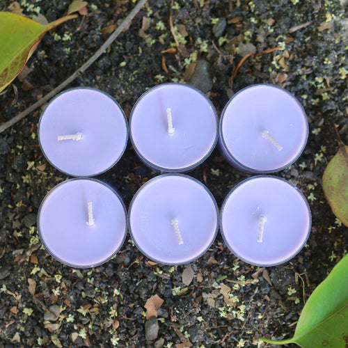 Mythos Candles | Will-O'-the Wisp - Lavender | 6 Soy Tealight Pack