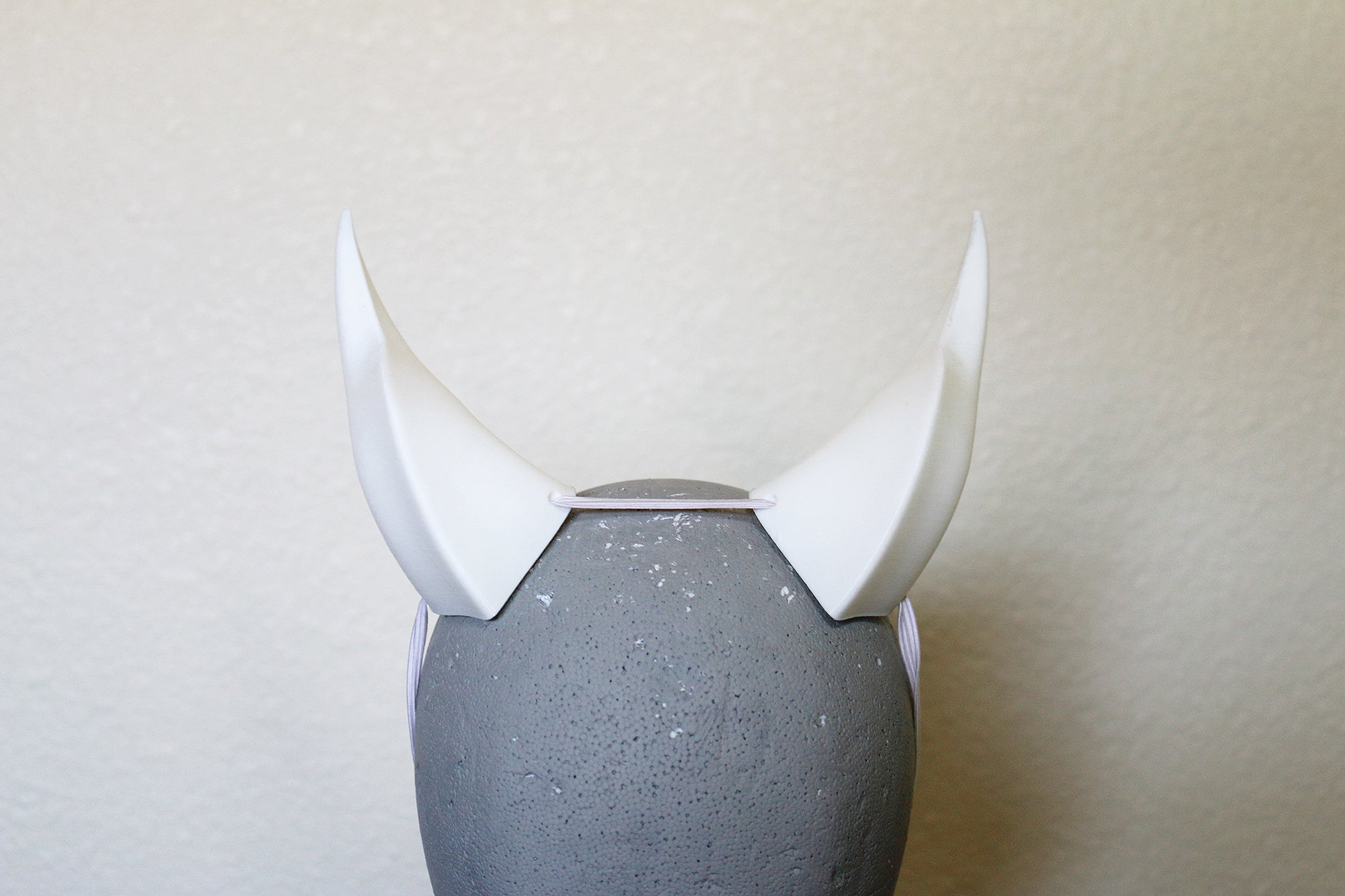 Medium Beast 3D Printed Costume Horns (Multiple Colors Available)