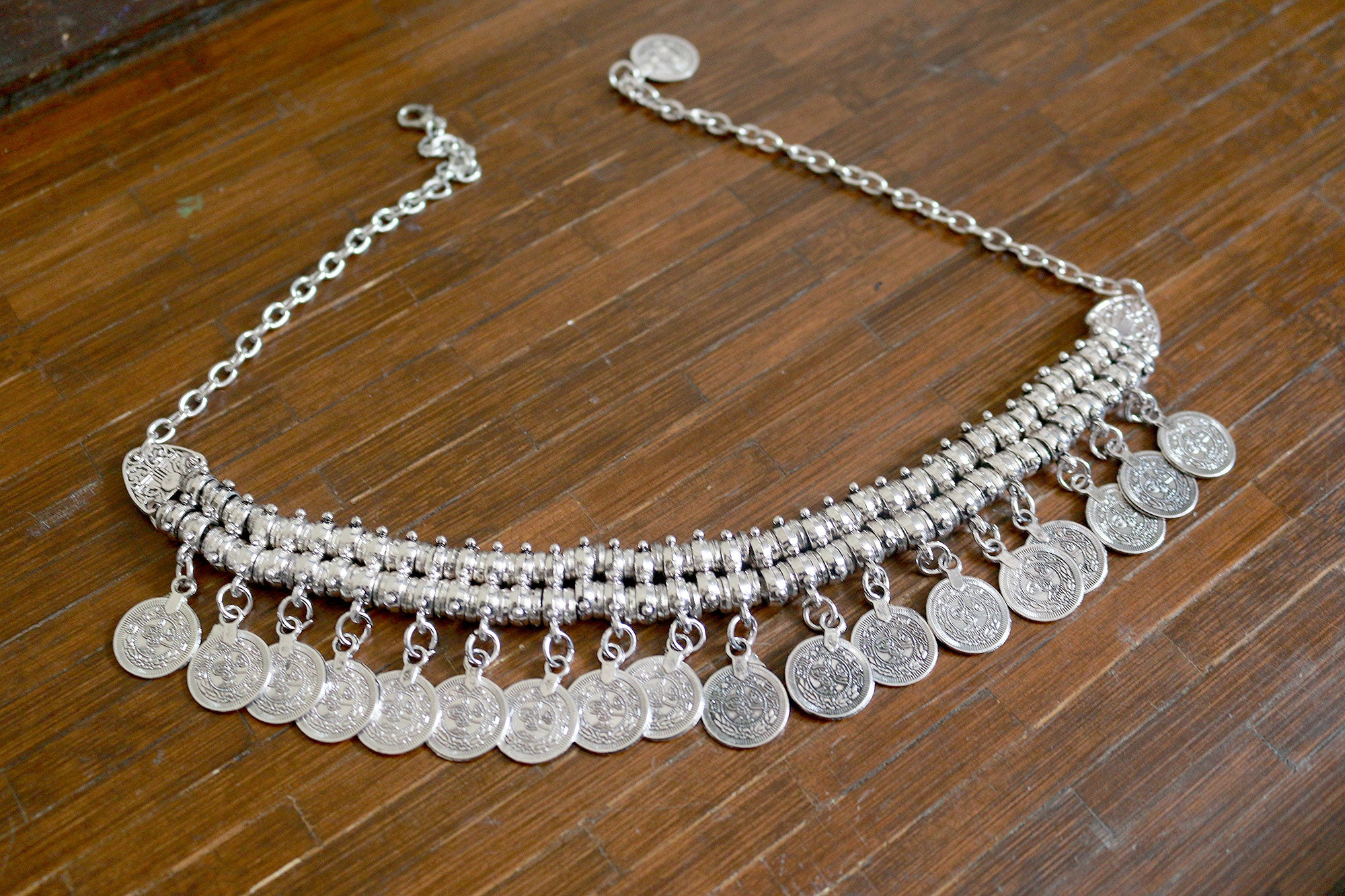 Feral Coin Statement Necklace
