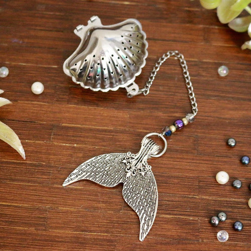Mermaid Fleur de lis Tail Tea Infuser