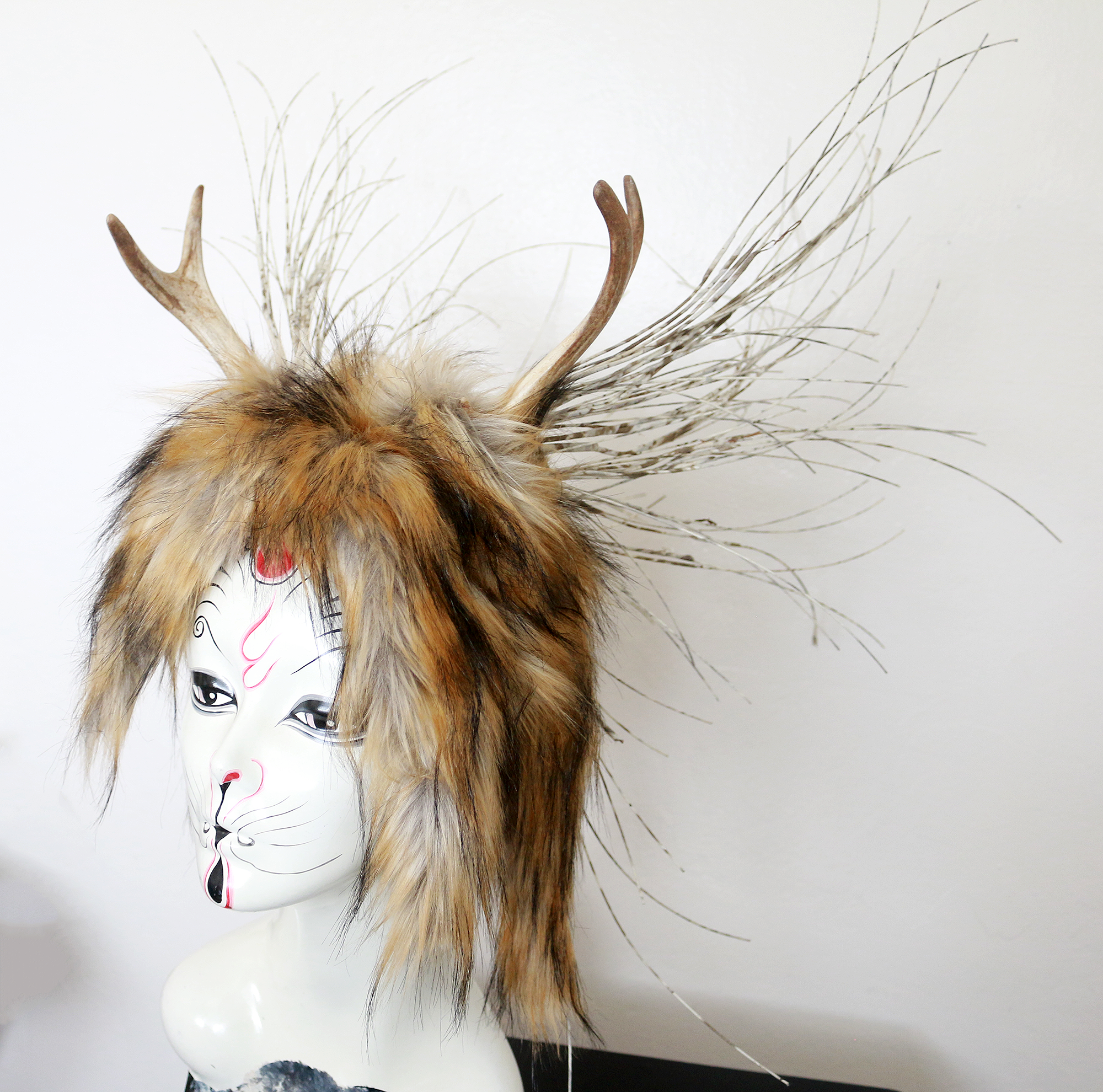 Wildling antler headdress