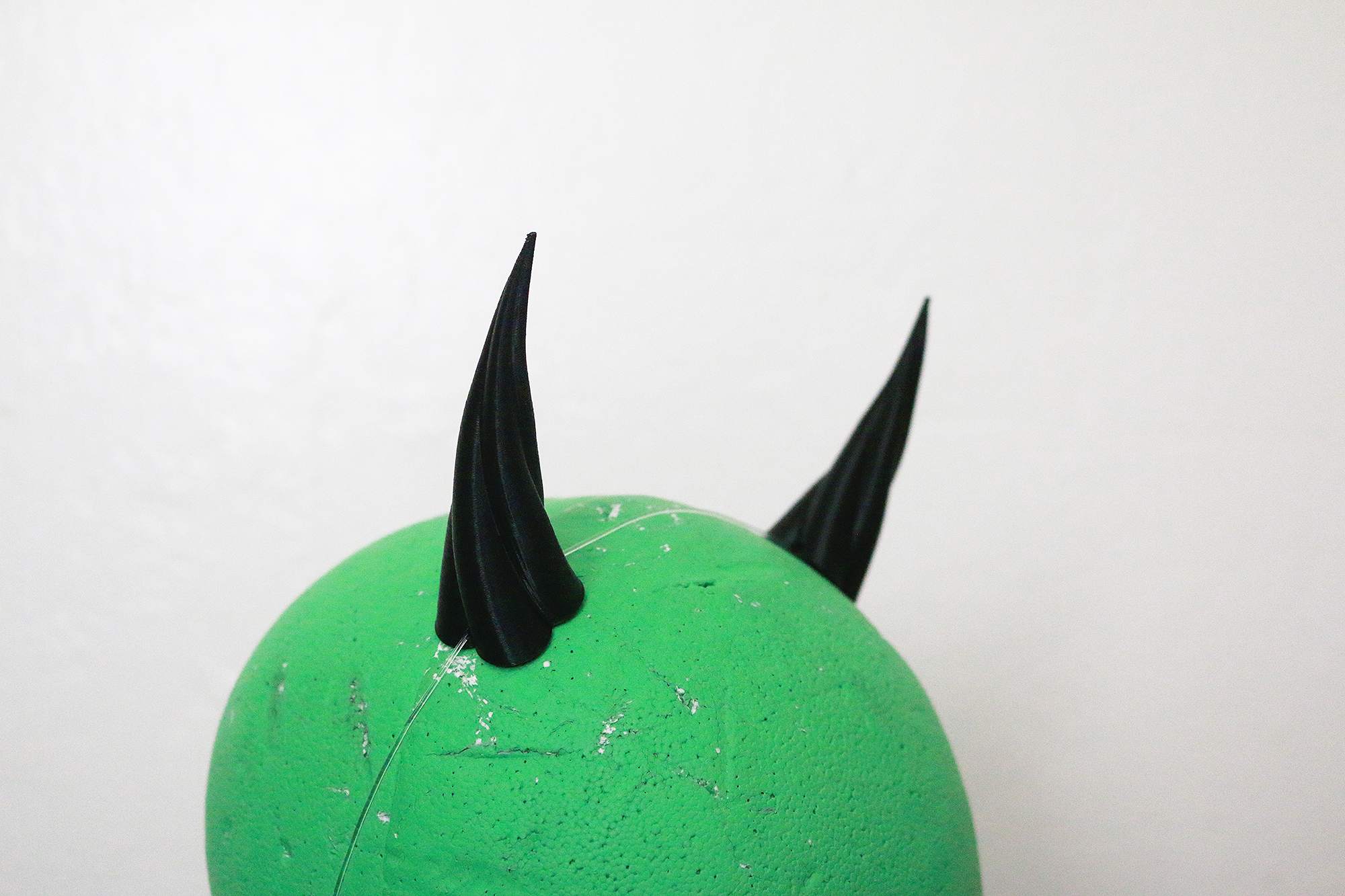 Small Fiend 3D Printed Costume Horns