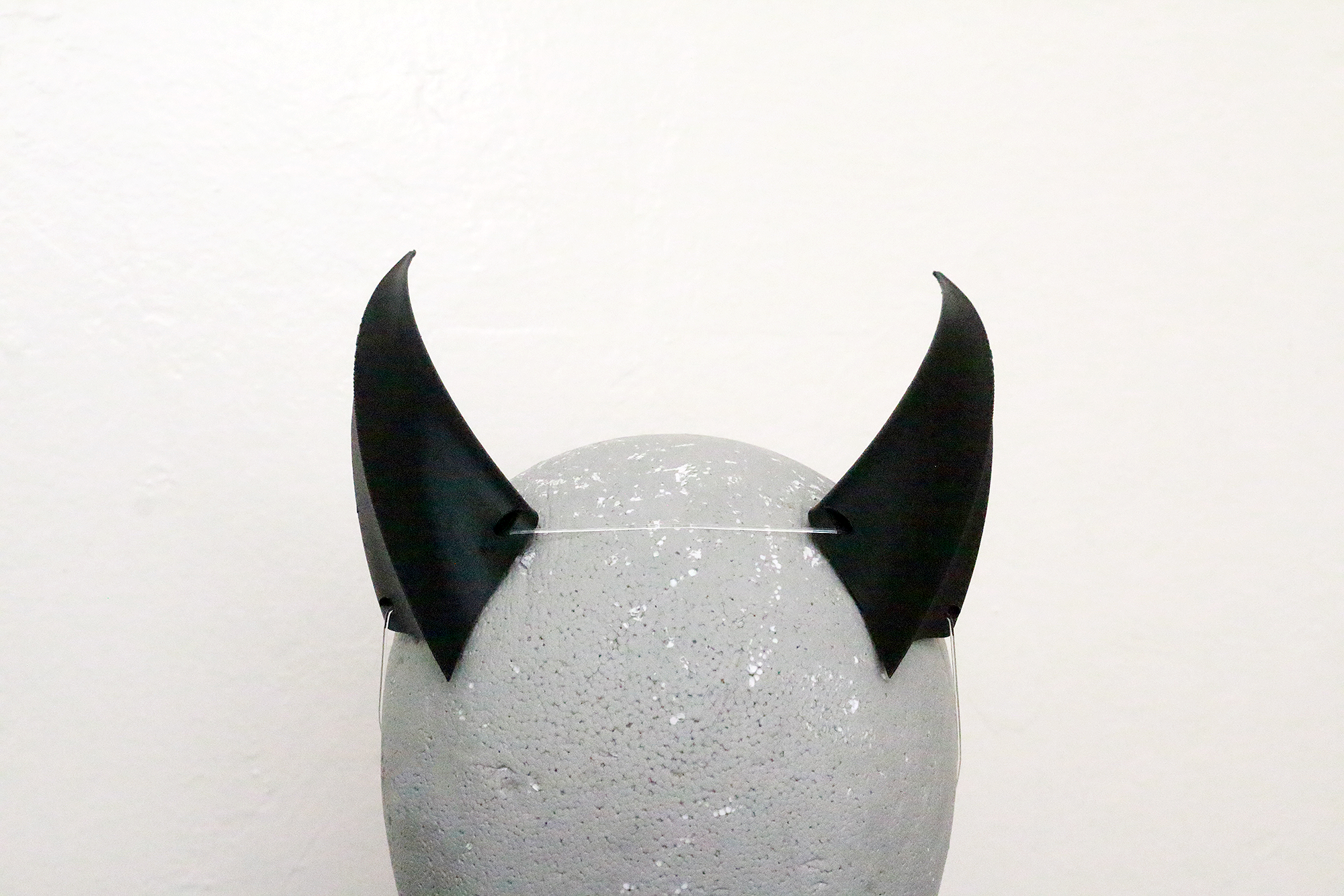 Medium Brute 3D Printed Costume Horns