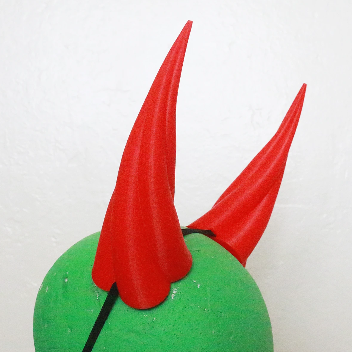 Large Fiend 3D Printed Costume Horns