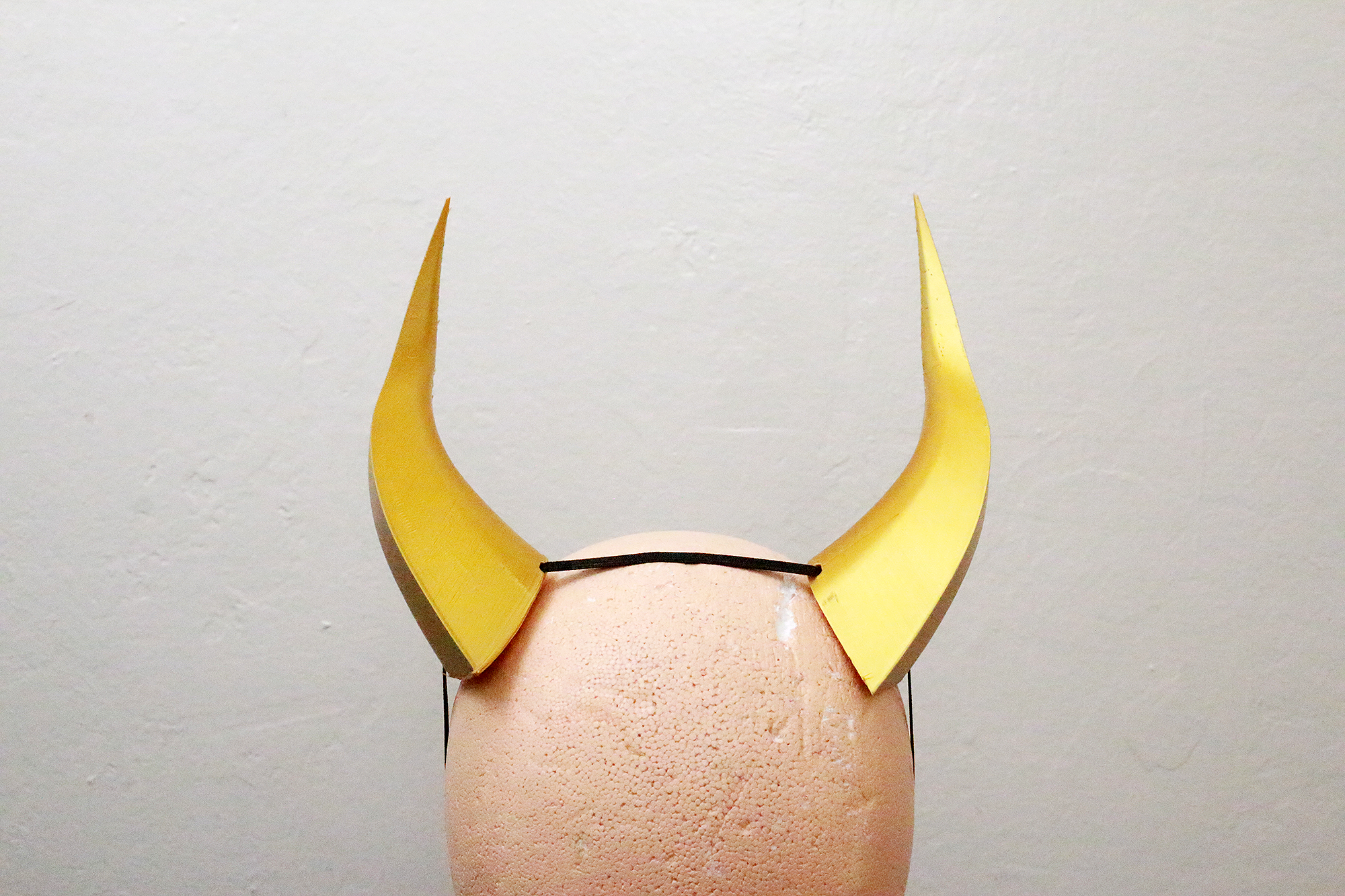 Large Wyvern 3D Printed Costume Horns