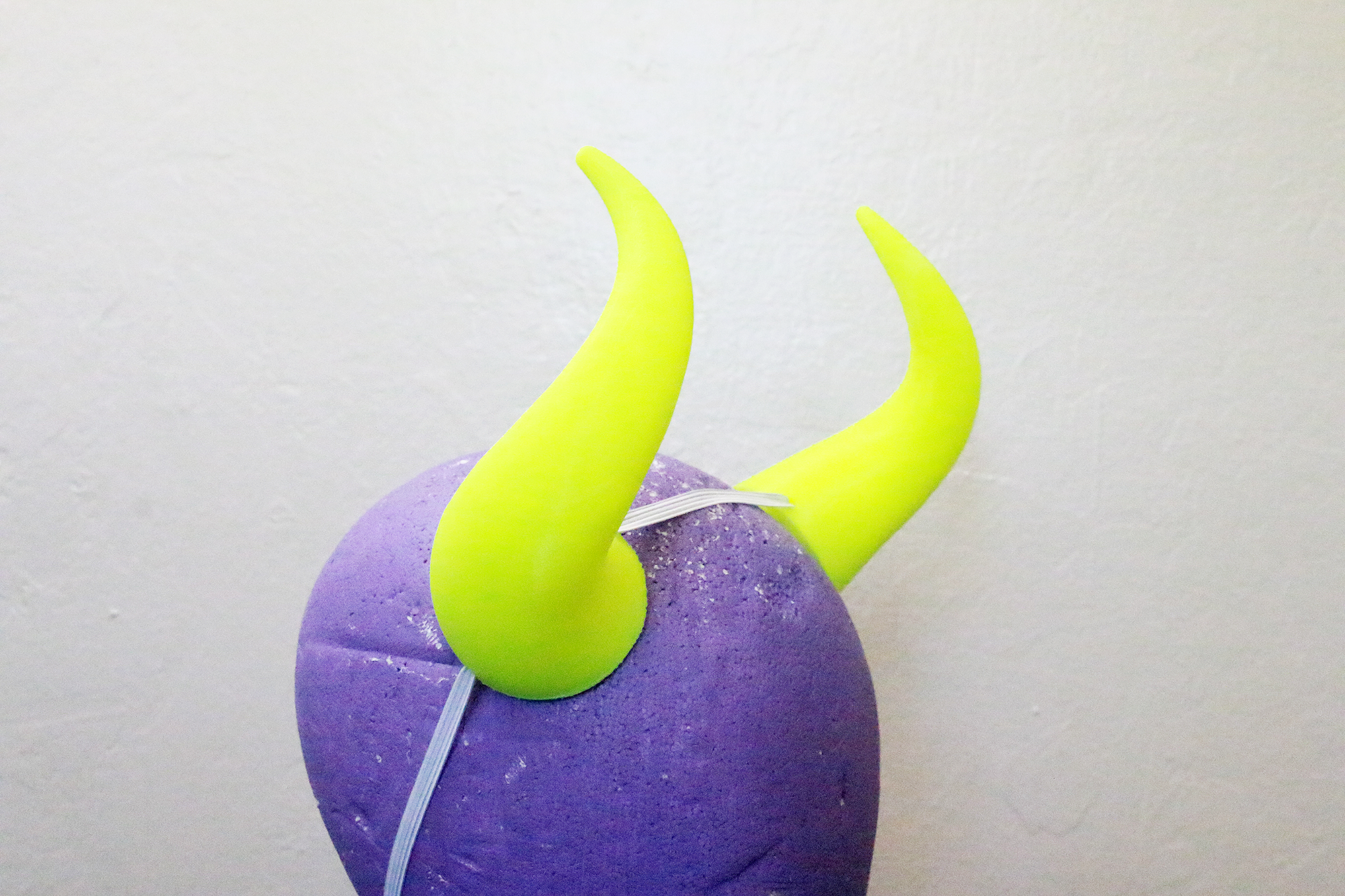 Medium Goat 3D Printed Costume Horns (Multiple Colors Available)