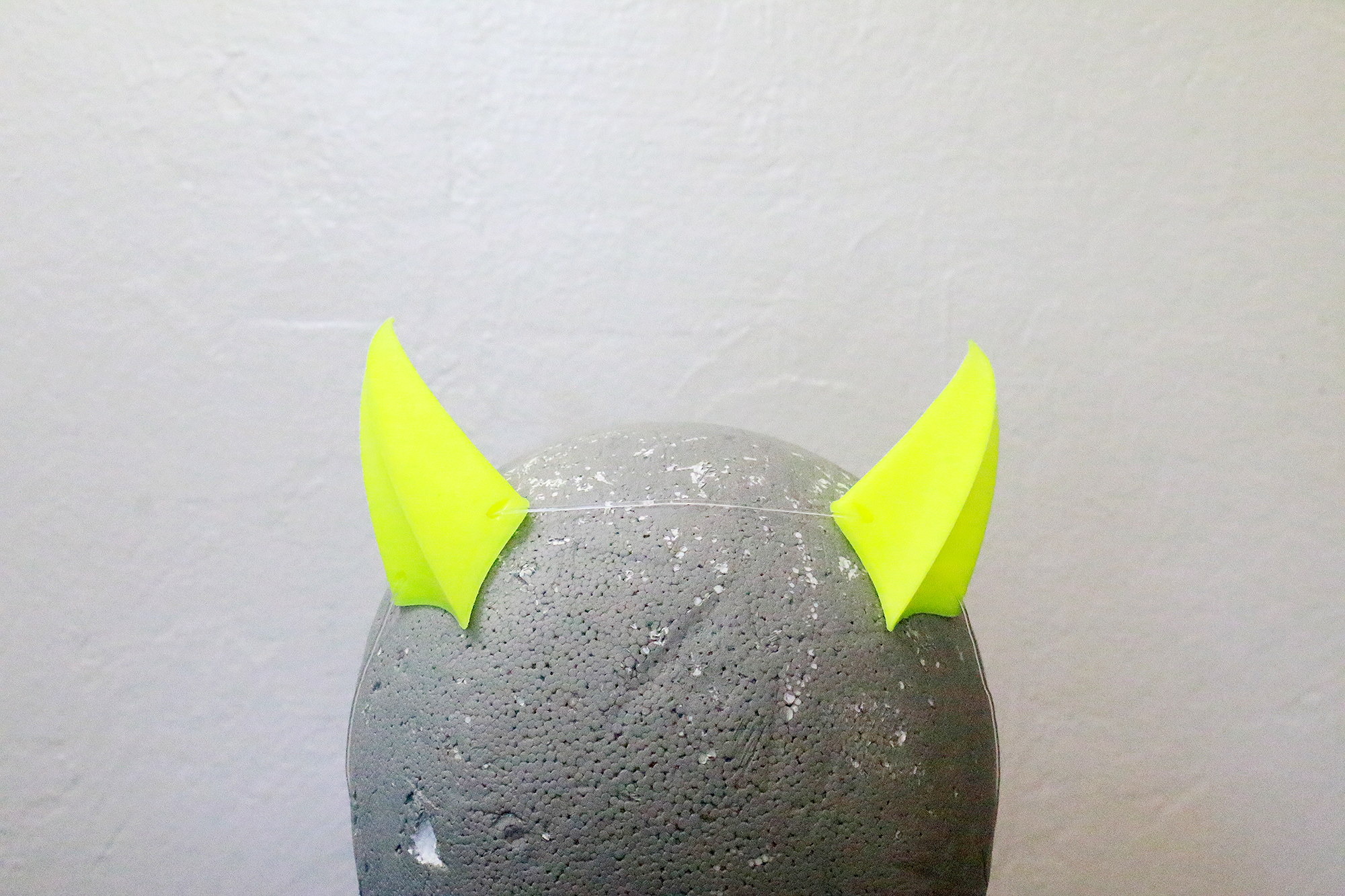 Small Brute 3D Printed Costume Horns