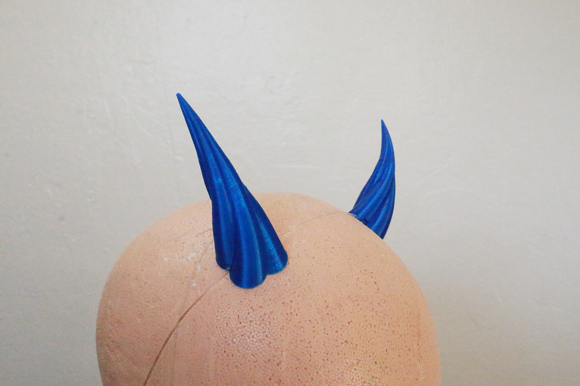 Small Imp 3D Printed Costume Horns