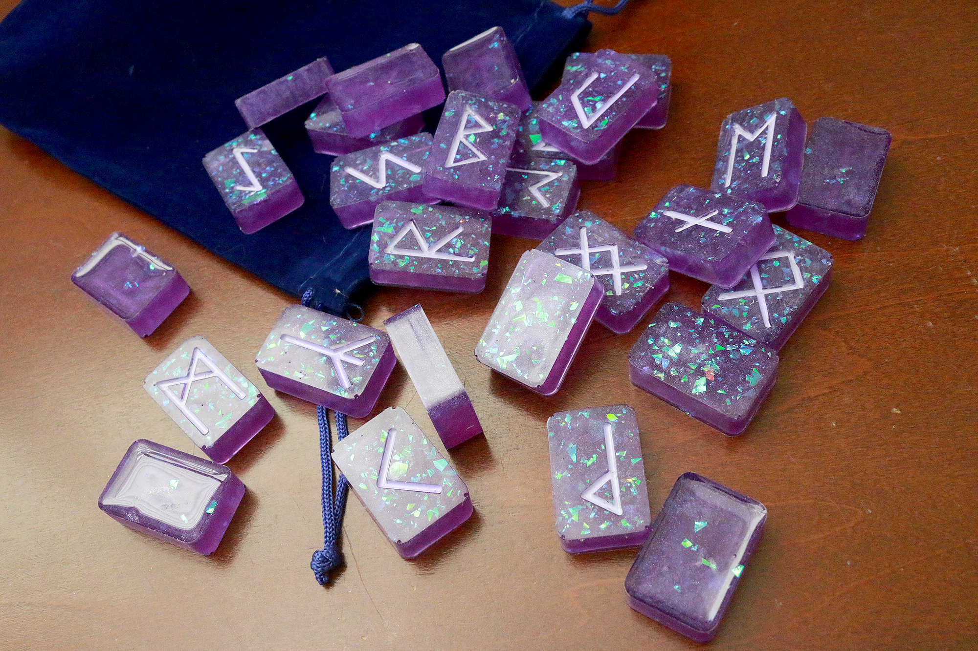 Purple Opal Rune Set