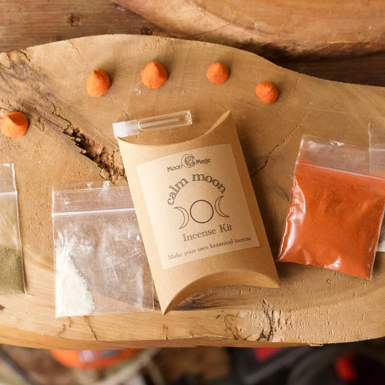Calm Incense Kit, mini DIY incense cones