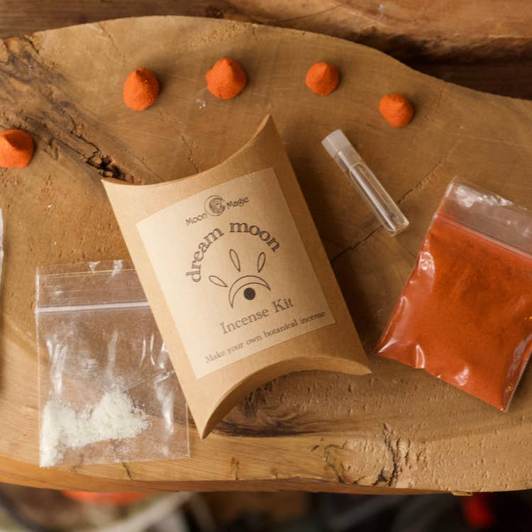 Dream Moon Incense Kit, mini DIY incense cones
