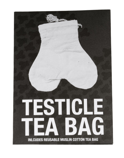 Teabag by Mail - The Reusable Testicle Tea Bag