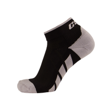CSX X110 High Cut Silver on Black Ankle Sock PRO