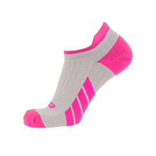 CSX X100 Low Cut Pink on Grey Ankle Socks PRO