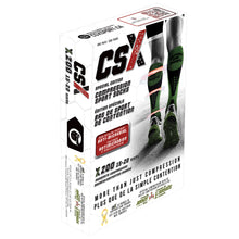 CSX Support Our Troops 15-20 mmHg Compression Socks Packaging