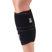 Side View of X463 Compression Calf Wrap