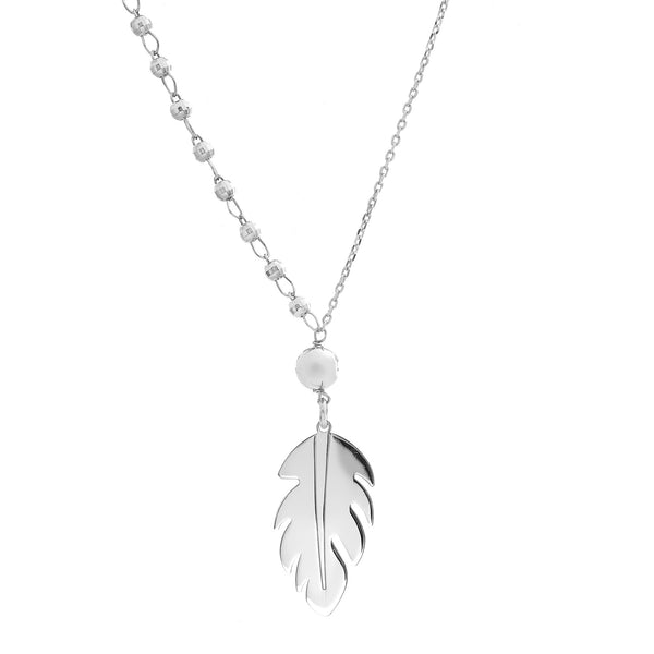 La PIUMA Feather Necklace - SALE