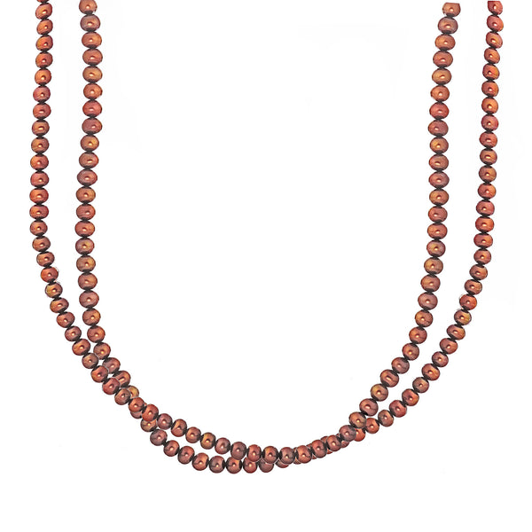 La RUST PEARL Necklace - SALE