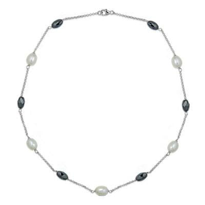 La PERLA & HAEMATITE Necklace - SALE